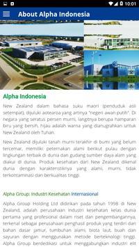 Alpha Indonesia screenshot 2