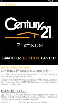 Century 21 Platinum Semarang screenshot 2