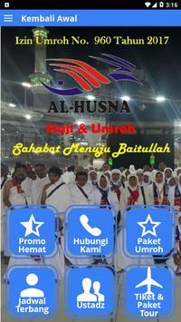 Citra Al-Husna Travel Umroh poster