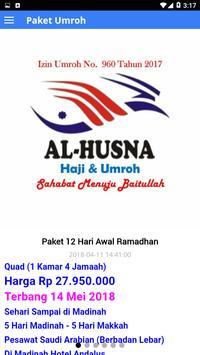 Citra Al-Husna Travel Umroh screenshot 4