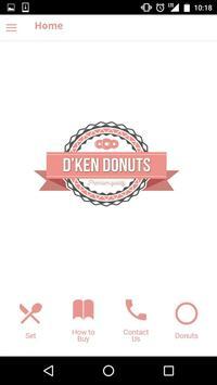 D'ken Donuts poster
