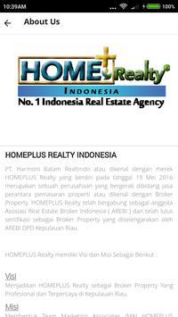 HOMEPLUS Realty Indonesia screenshot 1