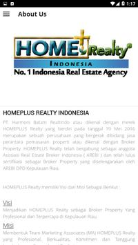 HOMEPLUS Realty Indonesia screenshot 2