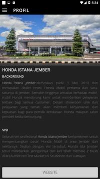 Honda Istana Jember screenshot 2