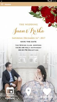 Juan & Friska Wedding apk screenshot