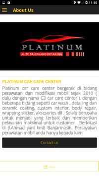 Platinum Car Care Center screenshot 2