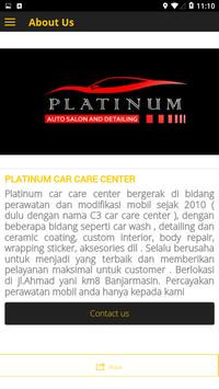 Platinum Car Care Center screenshot 2