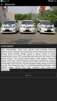 RENTAL ALPHARD JAKARTA screenshot 2