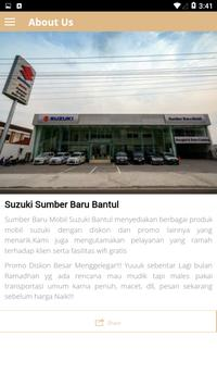SUZUKI BANTUL screenshot 2