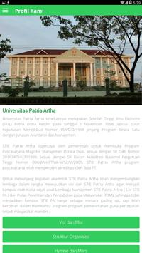 Universitas Patria Artha screenshot 2