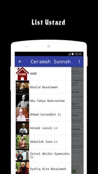 ceramah sunnah apk screenshot