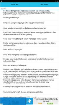 Kamus Sosiologi apk screenshot