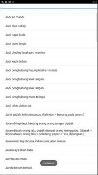 Peribahasa Indonesia screenshot 2