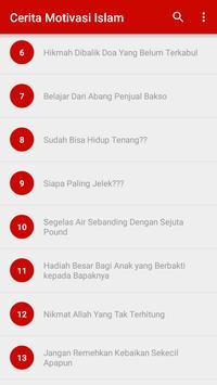 Cerita Motivasi Islam screenshot 6