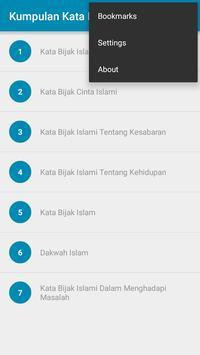 Kumpulan Kata Bijak Islam screenshot 1