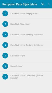 Kumpulan Kata Bijak Islam screenshot 4