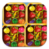 playing fruit and gems icon