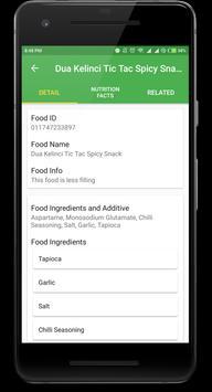 Halal Nutrition Food apk screenshot
