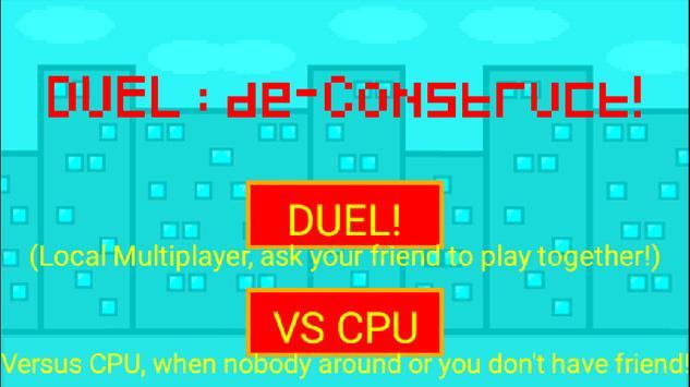 DUEL : de-Construct! poster