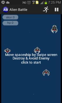 Alien Battle poster