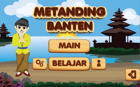 Metanding Banten poster