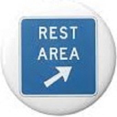 Find Rest Area icon