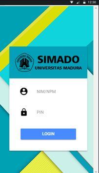 SIMADO UNIRA poster