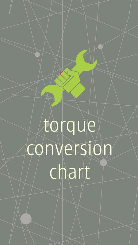Torque Conversion Chart Apk Download Free Tools App For Android