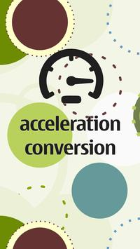Acceleration Conversion poster