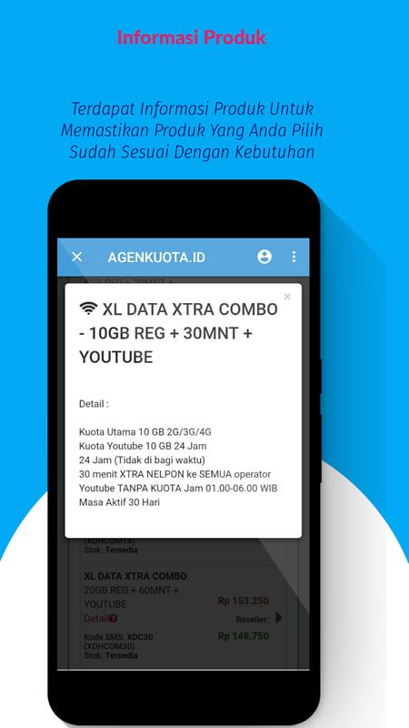 Jual Pulsa Online Kuota Murah Agenkuota Id Fur Android Apk