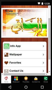 Kaligrafi Asmaul Husna apk screenshot