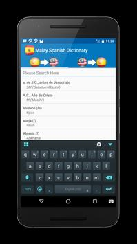 Malay Spanish Dictionary screenshot 2