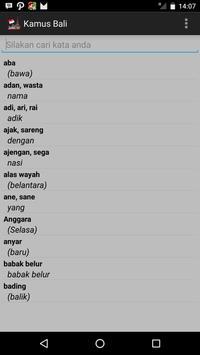 Kamus Bahasa Bali apk screenshot