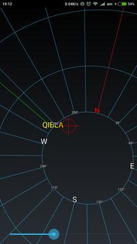 Qibla Rotation Vector Compass poster