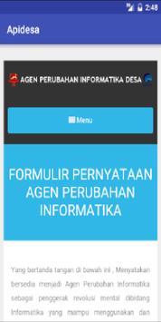 API Desa apk screenshot