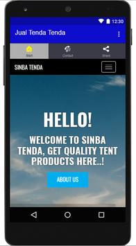 Jual Tenda-Tenda apk screenshot