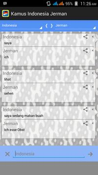 Indonesian German Translator poster