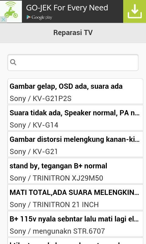 Reparasi Tv For Android Apk Download