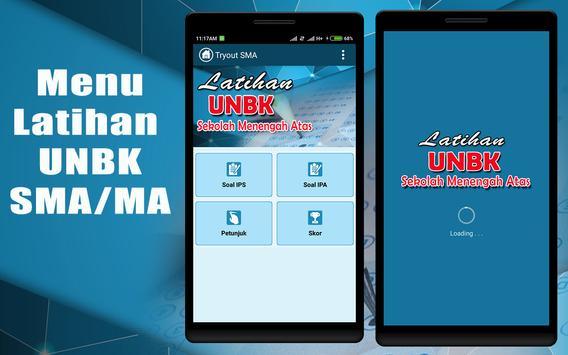 Tes UNBK SMA IPA-IPS 2018 poster