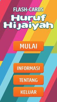 Flashcard Hijaiyah BISA poster