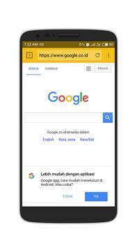 Browser 4G 2017 Cepat & Ringan screenshot 4