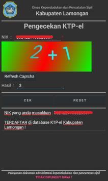 DisdukPencapil Lamongan screenshot 4