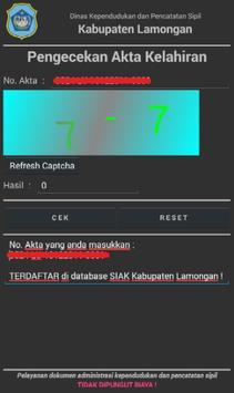 DisdukPencapil Lamongan screenshot 7
