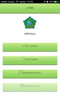 e-PBB Kabupaten Sidoarjo poster