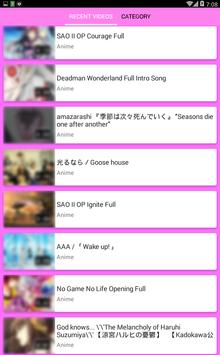 ANIME Songs Collections screenshot 1