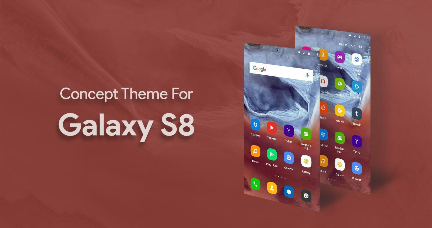 S8 Launcher - Galaxy S8 Theme for Android - APK Download