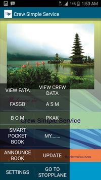 Crew Simple Service poster