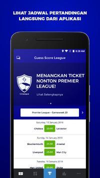 Guess Score League poster