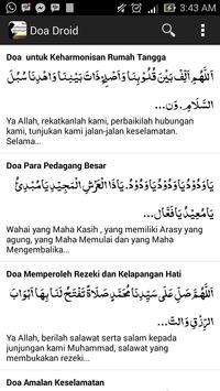 Doa Droid - Koleksi Doa Muslim screenshot 1
