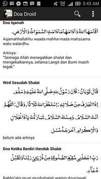Doa Droid - Koleksi Doa Muslim screenshot 2